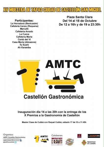 Muestra nacional de tapas en Castellón