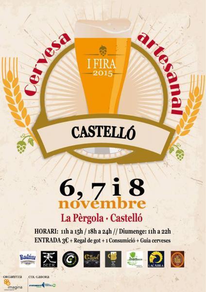 Feria de la cerveza artesanal en Castellón