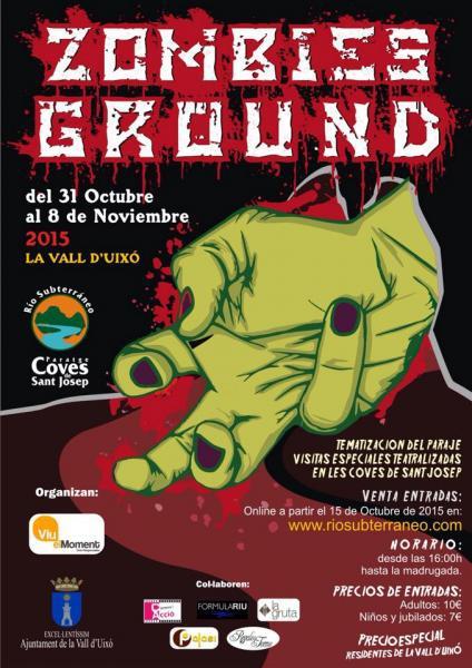 Zombiesground - Especial Halloween en Las Cuevas de San José