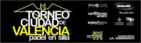 Torneo Ciudad de Valencia de Pádel en Silla de Ruedas