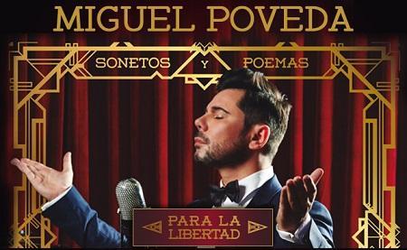 Miguel Poveda 'Sonetos y Poemas para la libertad'