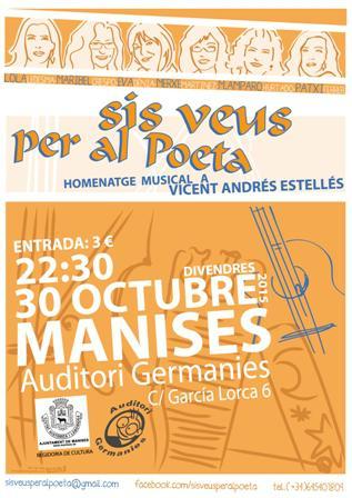 "Concierto Homenaje Musical ""Sis veus per al Poeta"""