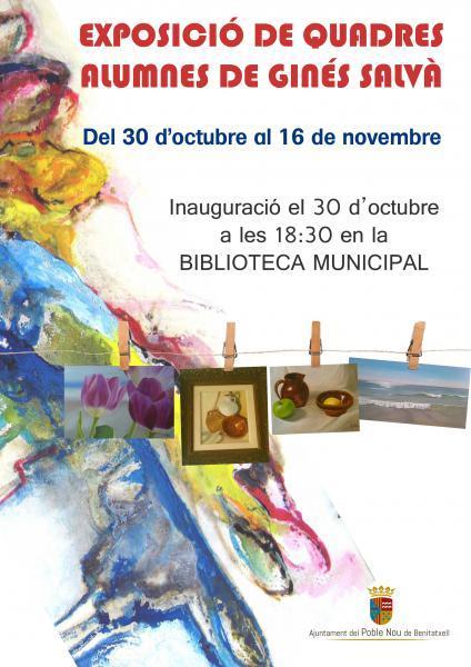 """Paintings Exhibition """"Ginés Salvà Students"""""""