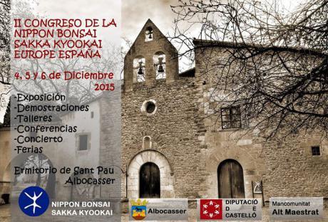Congreso de la Nippon Bonsai Sakka Kyookai Europe España, en Albocàsser