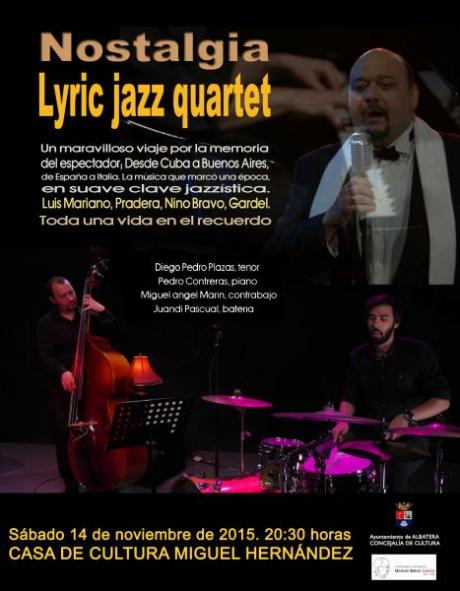 """NOSTALGIA LYRIC JAZZ QUARTET"""