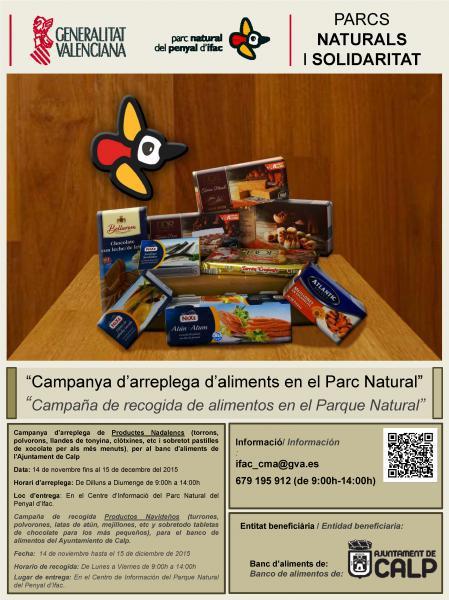 """""""Campaña de recogida de alimentos en el Parque Natural"""""""
