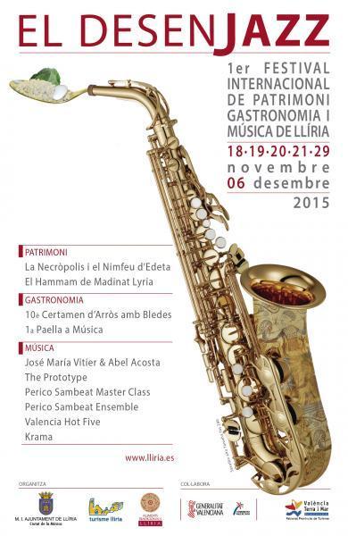 Desenjazz, 1er Festival Internacional de Patrimonio, Gastronomía y Música de Llíria