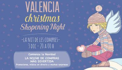 Valencia Christmas Shopening Night 2015