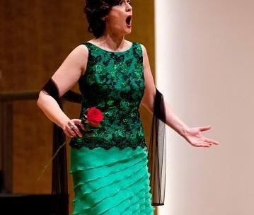 Actuación de la soprano Ascensión Padilla Blanco. Benissa