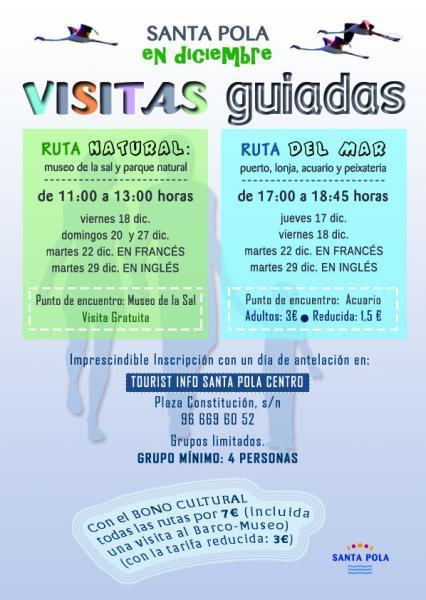 Visitas Guiadas en diciembre - Santa Pola