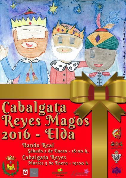 Cabalgata Reyes Magos 2016 Elda