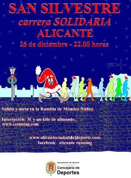 7ª San Silvestre Popular Solidaria Alicante 2015