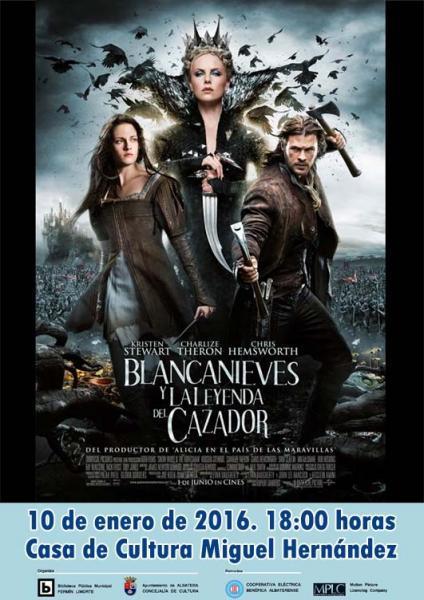 Cine Juvenil. Blancanieves y la Leyenda del Cazador