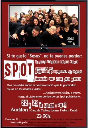 """Teatro """"Spot"""" de Carles Alberola y Roberto García"""