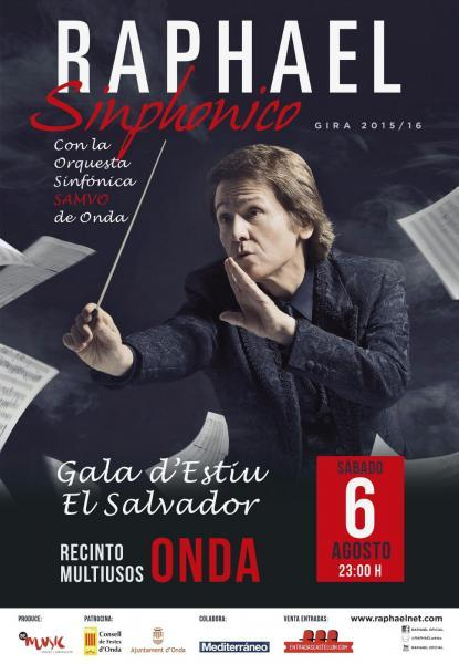 RAPHAEL SINPHONICO EN ONDA