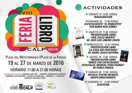 VIII Feria del Libro Calp 2016