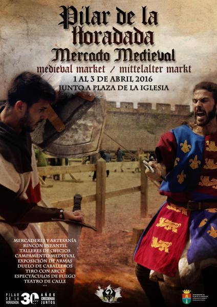 Mercadillo Medieval 2016 en Pilar de la Horadada