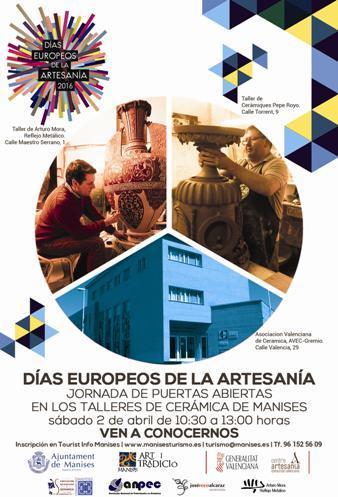Jornada Puertas Abiertas Talleres de Cerámica- Días Europeos de la Artesanía