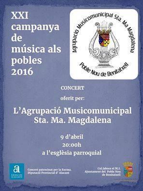 Concierto Agrupación Musicomunicipal Sta. Mª Magdalena