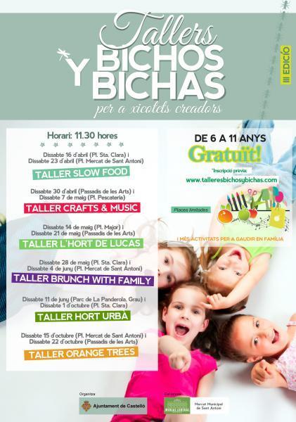 III Talleres Bichos y Bichas 2016