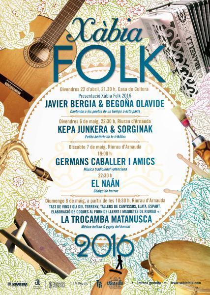 Xàbia Folk 2016