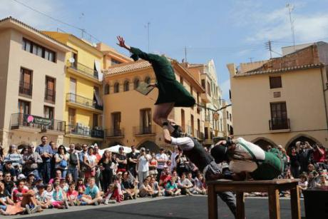 The streets of Vila-real become a theatre