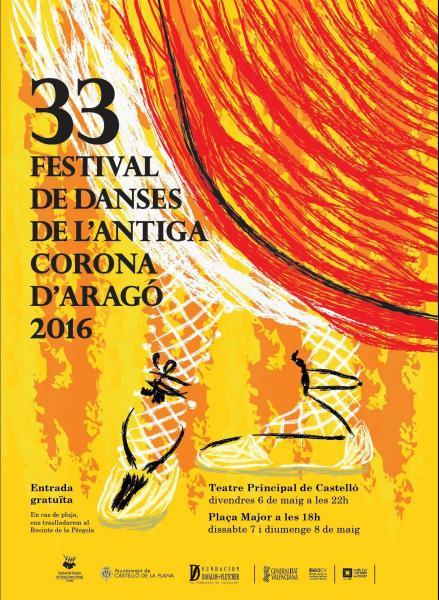 """XXXIII Festival de """"Danses de la Antiga Corona d'Aragó"""" 2016"""