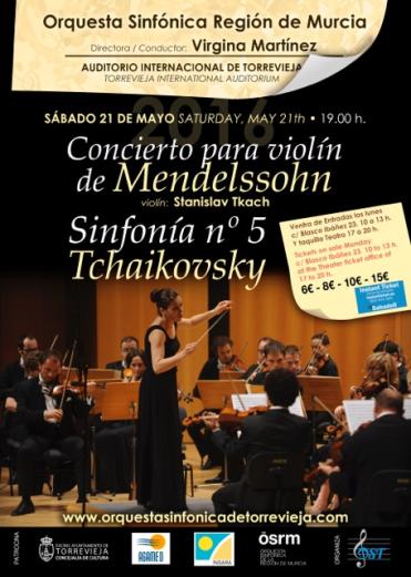 Orquesta Sinfónica de Murcia en Torrevieja.