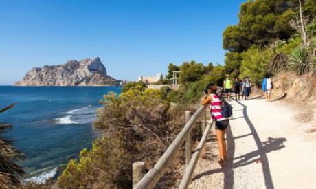 Wanderweg Voramar-Calalga oder Bassetes