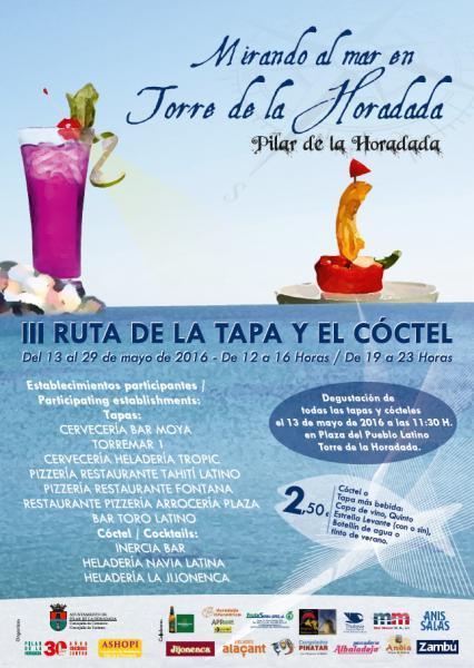 III Ruta de la Tapa y el Cóctel en la costa de Pilar de la Horadada