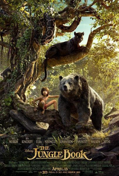 Cine: El libro de la selva