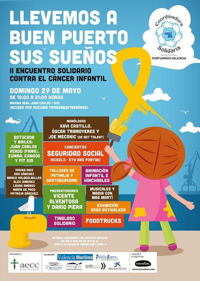 II Encuentro solidario contra el cáncer infantil
