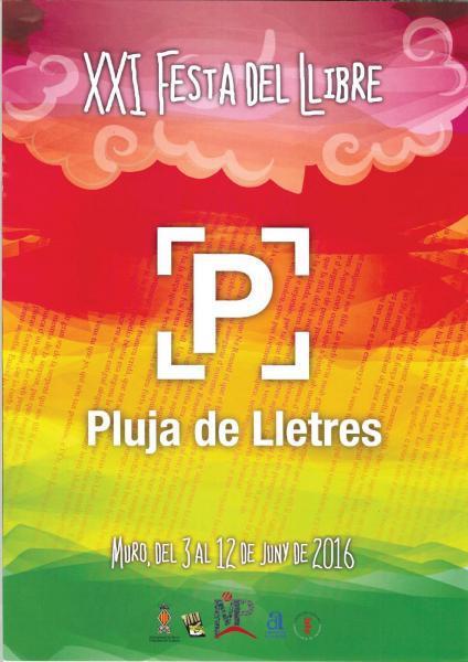 "XXI FIESTA DEL LIBRO ""LLUVIA DE LETRAS"""