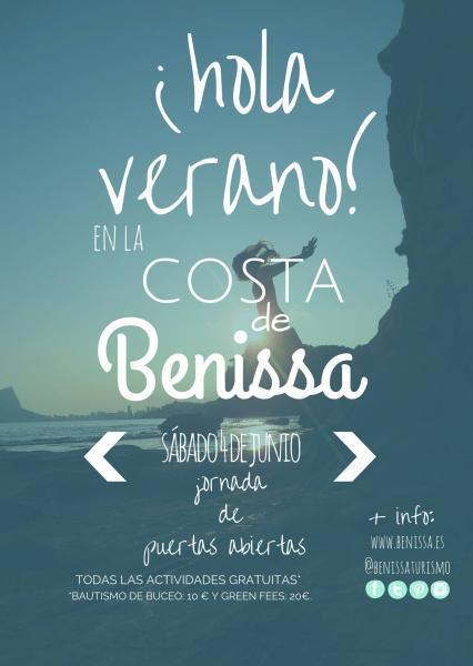 ¡Hola verano! en la costa de Benissa