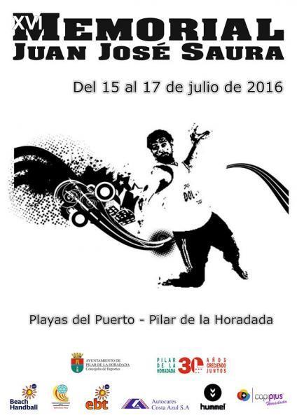 XVI Memorial Juan José Saura de Balonmano Playa en Pilar de la Horadada 2016