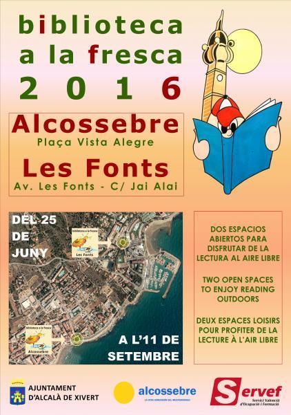 BIBLIOTECA A LA FRESCA 2016