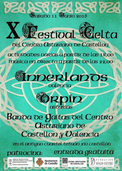 X Festival Celta en Castellón