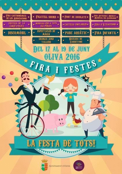 Fira i Festes Oliva 2016