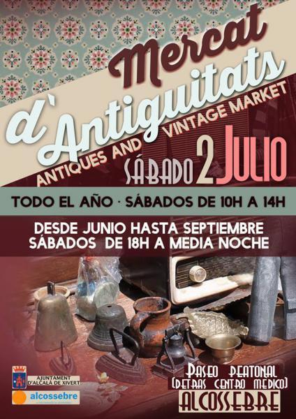 Mercado de Antigüedades Alcossebre