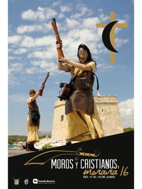 Programa de actos MOROS Y CRISTIANOS MORAIRA 2016