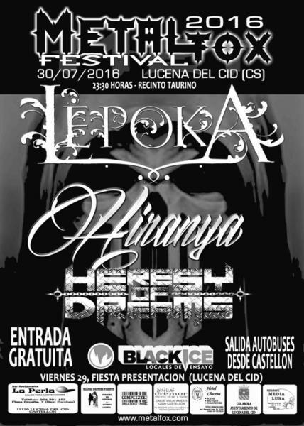 Metal Fox Festival en Lucena del Cid