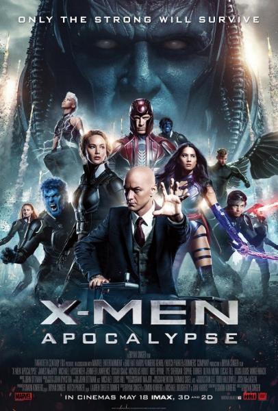 Cine: X Men Apocalipsis