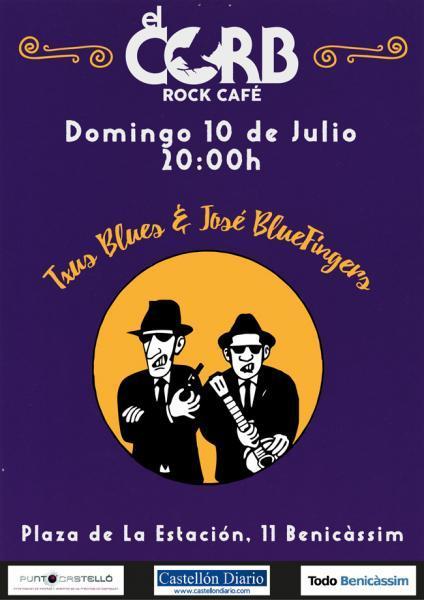 Txus Blues & José BlueFingers - El Corb Benicàssim