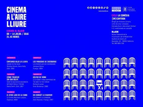 Cinema al MUVIM, cine al aire libre