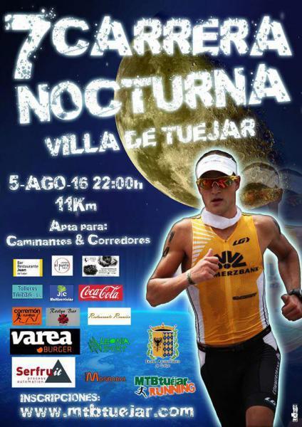 7 CARRERA NOCTURNA - Villa de Túejar 2016