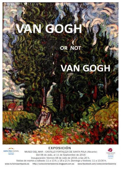 Exposición Van Gogh or Not Van Gogh Colección L'Arlésienne en Santa Pola