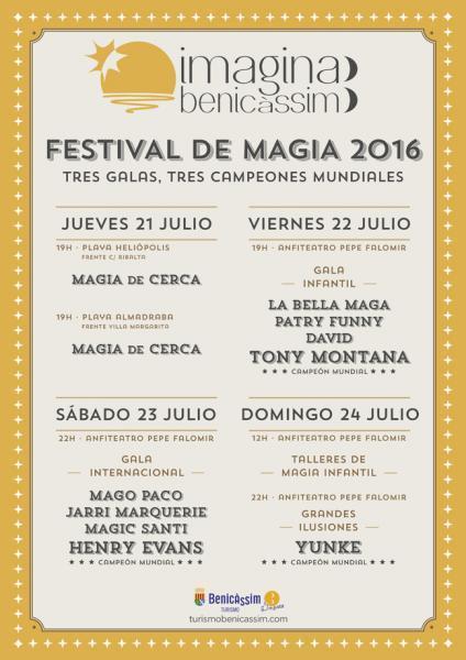 Festival de magia Imagina Benicàssim