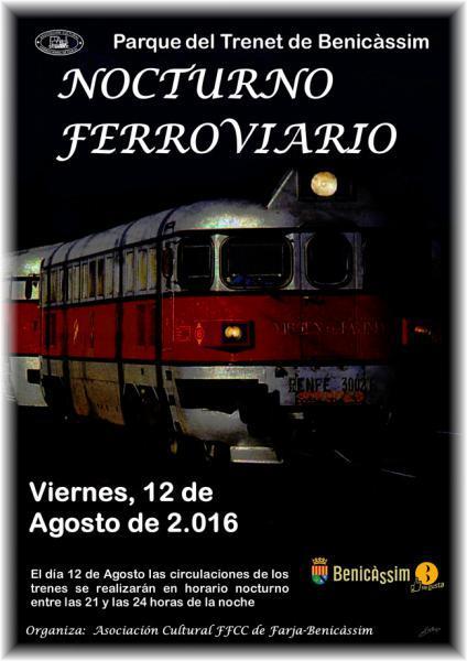 Plaza Trenet de Benicàssim: Circulaciones Nocturnas