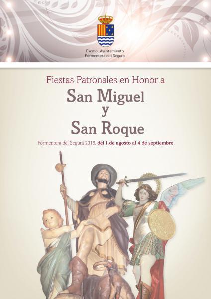 Programme of festivities Formentera 2016
