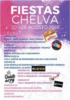 FIESTAS DE CHELVA 2016